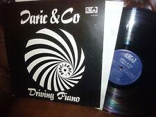 Jaric & Co, Driving Piano, LP Ron 0123456, Boogierock, Austria, Austropop, 1982