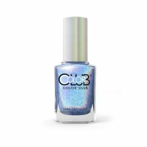 Color Club Halo Hues Holographic Nail Polish 1094 Crystal Baller 0.5oz