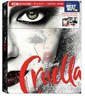Cruella (2021) Steelbook (Blu-ray + 4K + Digital) ** In Stock **