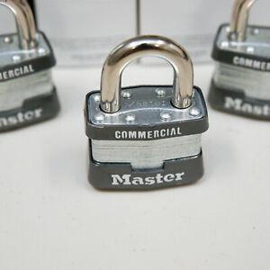 Master Commercial Padlocks Model 1KA Key 2157 Keyed Alike 7 Available
