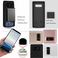 6500mAh Power Bank Cover For Samsung Galaxy Note 9 External Battery Charger Case