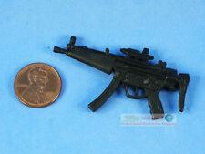 """7"""" Action Figure MP5 Sub Machine Gun Model for 1:11 or 1:12 7"""" Scale DA118"""