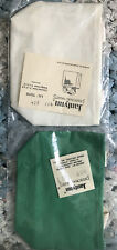 Two Janlynn  Lil' Tote Bags NIP 1 Green, 1 Cream 100% Cotton