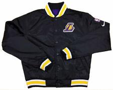 Nike NBA Los Angels Lakers Courtside Reversible Jacket Black Size Small NWT