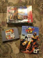 BLAST CORPS (Nintendo 64 1997) Complete In Box Tested !!