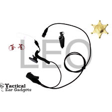 Quick Release Earpiece Coyote Lapel Mic Kenwood NX200 NX300 TK2180 TK3180 TK5210
