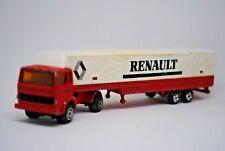 MAJORETTE Articulated RENAULT Truck & LOW-LOADER Trailer w/ RENAULT TILT Livery