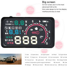 "5.5"" Car OBD2 HUD Head Up Display Support Multiple Data Display Simultaneously"