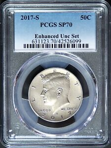2017 S Kennedy Enhanced Uncirculated PCGS SP70 from 225th Mint Anniversary Set
