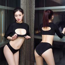 Sexy-Lingerie-Sleepwear-Hot-Women's-Shorts-Tops-Underwear-Babydoll-Nightwear