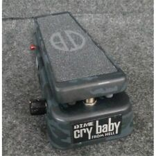 Dunlop DB01B Dime Cry Baby From Hell Wah Effects Pedal Black Camouflage