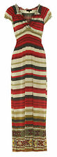 Unbranded V Neck Casual Striped Dresses for Women