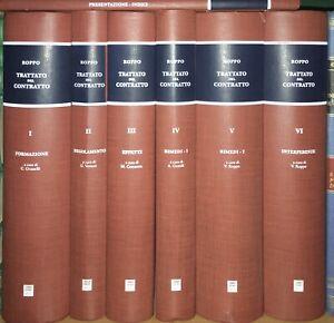 Trattato del Contratto di Roppo - Giuffre - 7 Tomi