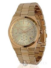 NEW WOMENS MICHAEL KORS (MK5926) GOLD CHANNING CHRONOGRAPH DIAL WATCH SALE!