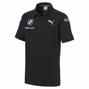BMW Motorsport Team Men's Polo Shirt Dark Gray