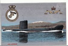 RN SUBMARINE   souvenir of    service metal alloy  HMS Possum