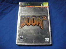 AS IS XBOX DOOM 3 LIMITED COLLECTORS EDITION METAL CASE SEE PICTURES 04787581073