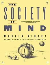 Society of Mind by Marvin L. Minsky (English) Paperback Book - Free Shipping!
