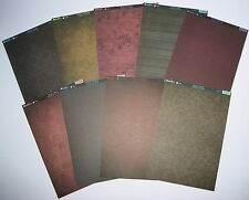 Kanban kit, Kandi Core double sided Mocha card selection, paper craft cardmaking