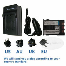 Battery+charger for CANON NB-2Lh EOS 400D 350D Elura 90 PC1018 DV3 DC310