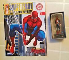 MARVEL SUPEREROI COLLEZIONE UFFICIALE 01 SPIDER-MAN Statua+Fascicolo FABBRI