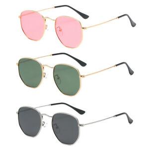 Men Women Sport Polarized Mirrored Sunglasses UV400 7 Classic Colours Polygon