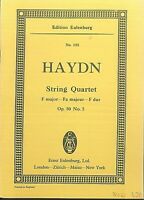 Haydn ~ String Quartett F Dur Op. 50 No. 5 ~ Taschenpartitur