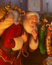 Scott Gustafson ST. NICK giclee canvas, Santa Claus, Christmas #7/125