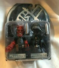 Hellboy Mez-itz , Hellboy & Kroenen Action Figures Mezco 2004