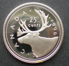 ★ 1996 Canada Proof Sterling 92.5% silver 25 cents
