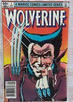Wolverine #1 comic book  sept. 1982
