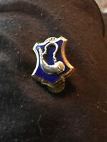 Authentic WWII US Army 181st Infantry Regiment Unit DI DUI Crest Insignia NH