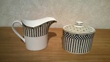 Wedgwood *NEW* Samurai 5017090 Set Sucrier + Crémier Sugar bowl + milk jug
