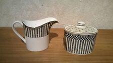 Wedgwood *NEW* Samurai 5017090 Set Sucrier + Crémier Sugar bowl + milk jug