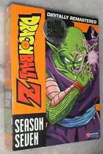Dragon Ball Z: Staffel 7 Sieben UNGESCHNITTEN DVD Box-Set BRANDNEU & VERSIEGELT