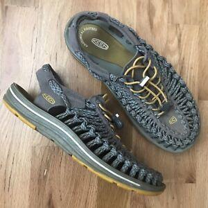 KEEN Uneek Cord Sport Water Sandals Hiking Adjustable Stretch Men's Size 9 EU 42