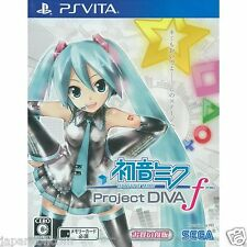 Hatsune Miku -Project DIVA PS Vita SONY JAPANESE NEW JAPANZON