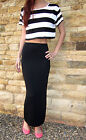 EXTRA LONG TALL Skirt Split MAXI Length Plain Print Size 8 10 12 14 16 18 20
