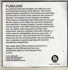 (BR625) Pumajaw, Mask - DJ CD