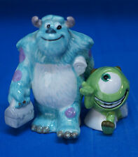 Monsters Inc Sulley & Mike  Ceramic Salt Shakers Figurine Disney Pixar 23604