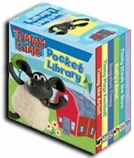 Timmy Time Little Pocket Library Collection Childrens 6 Board Books Set AUS
