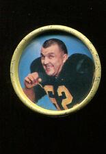 1962 Salada Football Coins Mike Sandusky #69 Steelers Ex+ Condition KK76