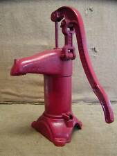 Vintage Cast Iron Farm Pump > Antique Old Pumps Garden