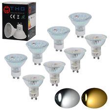 10x GU10 LED Bulbs SMD Lamps 7W 5W Spotlight 60w 50w Brightness Replacement A++
