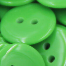100Pcs 2 Holes 8mm 12.5mm Round Resin Buttons Scrapbooking Sewing DIY Craft