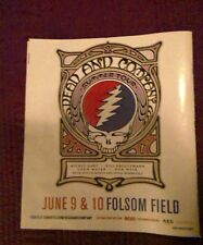 dead company poster 2017 sales ad Boulder CO. 3 side's