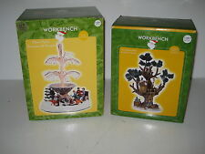 Santa's Workbench Accessories Village Tree House Fiber Optic Fountain