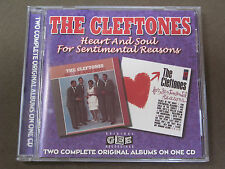 Heart and Soul / For Sentimental Reasons  The Cleftones CD 1998