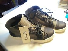 Roxy Womens shoes Dayton Fashion Sneaker  Nwt size 9 US UK 7 EUR 40 black