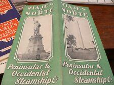 Viajes al Norte - Peninsular & Occidental Steamship Co. &